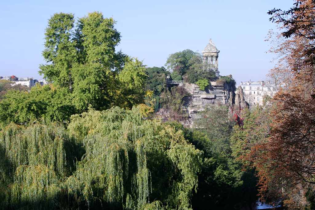 Park Buttes Chaumont Paris