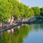 Picknick Canal Saint-Martin
