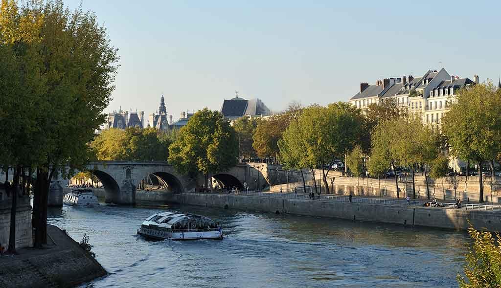 Pont Marie Kuss Paris