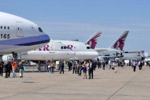 Salon du Bourget Messe Paris air Show Flugzeugmesse