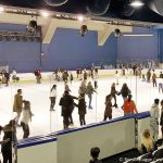 Schlittschuhlaufbahn Paris AccorHotels Arena Bercy