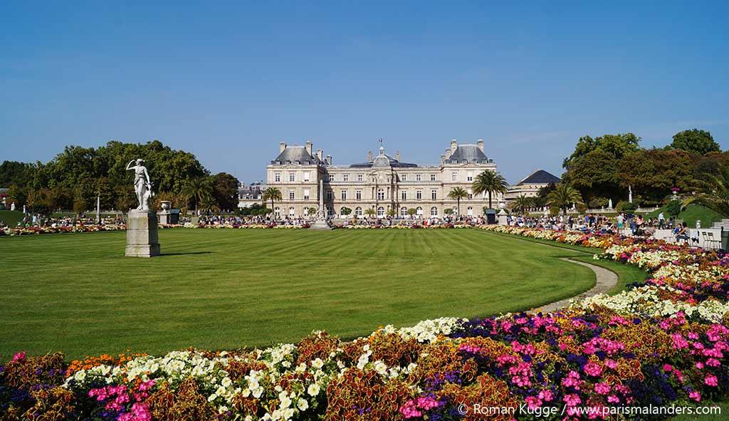 Senat Palais du Luxembourg Park Paris