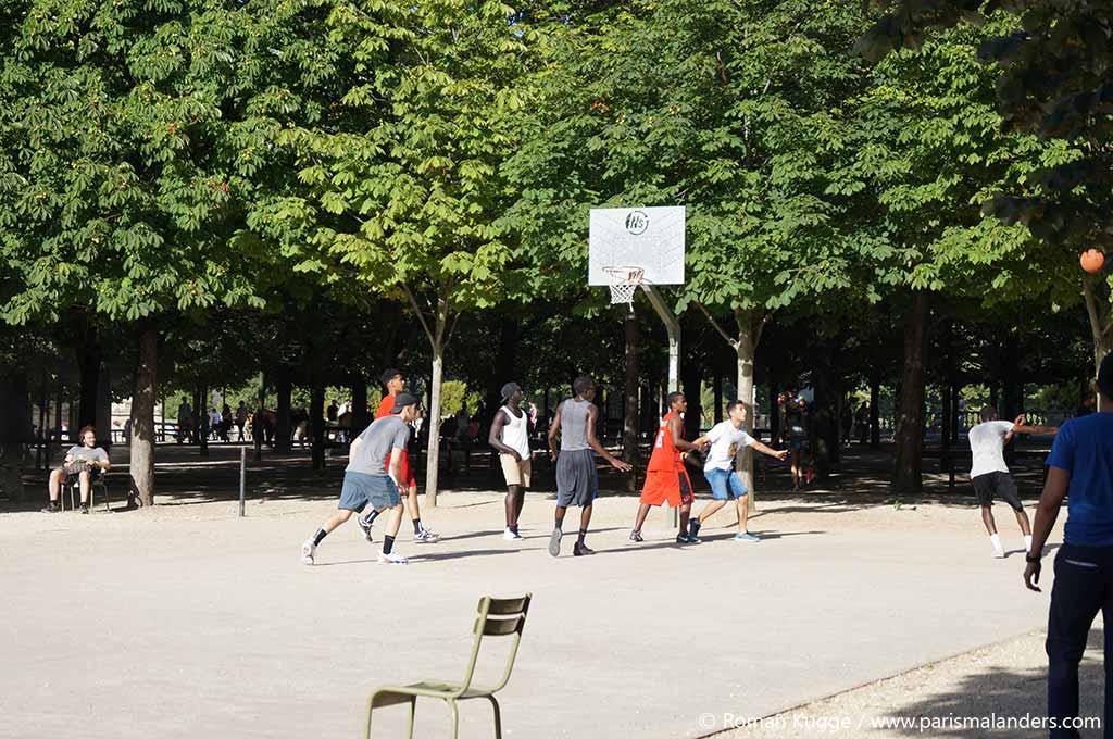 Sport Basketball Jardin du Luxembourg