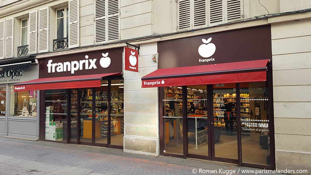 Supermarkt Paris Franprix