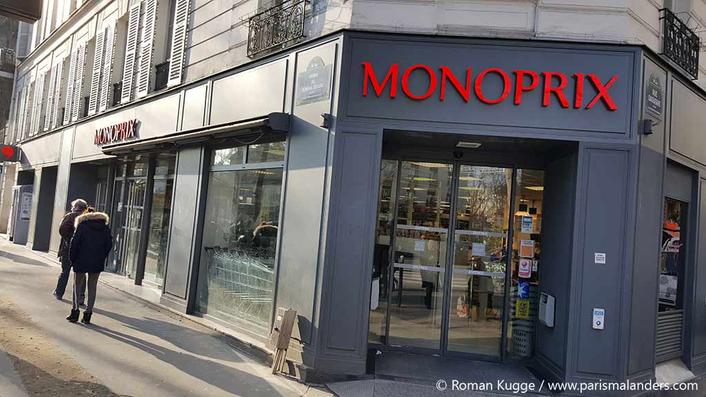 Supermarkt Paris Monoprix