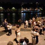 Tanzen Seine Ufer Paris