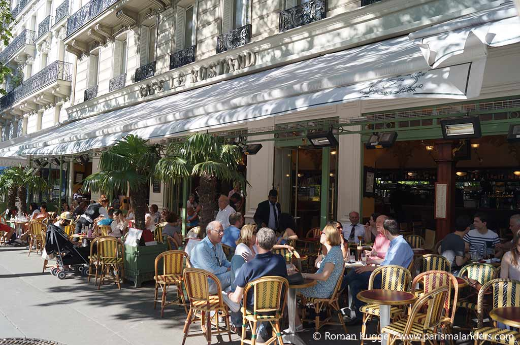Terrasse Cafe Paris Bistro