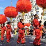 Umzug Chinesisches Neuhjahr Paris 13 Arrondissement