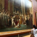 Louvre Krönung Napoleons David Gemälde