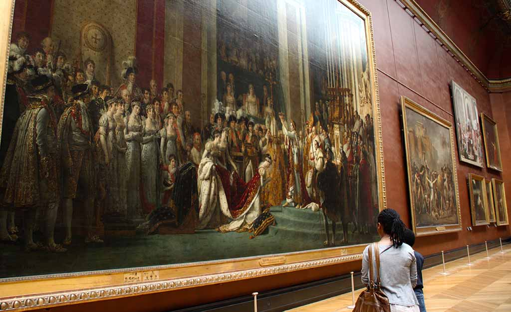 Louvre Die große Odaliske Ingres