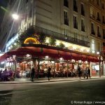 Restaurant Paris nachts