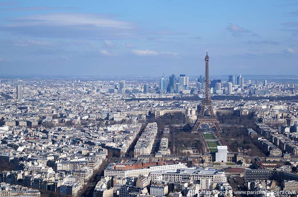 Aussicht Ausblick Dachterrasse Galeries Lafayette