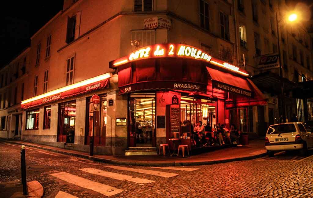 Cafe des deux moulins Drehort Fabelhafte Welt Amelie