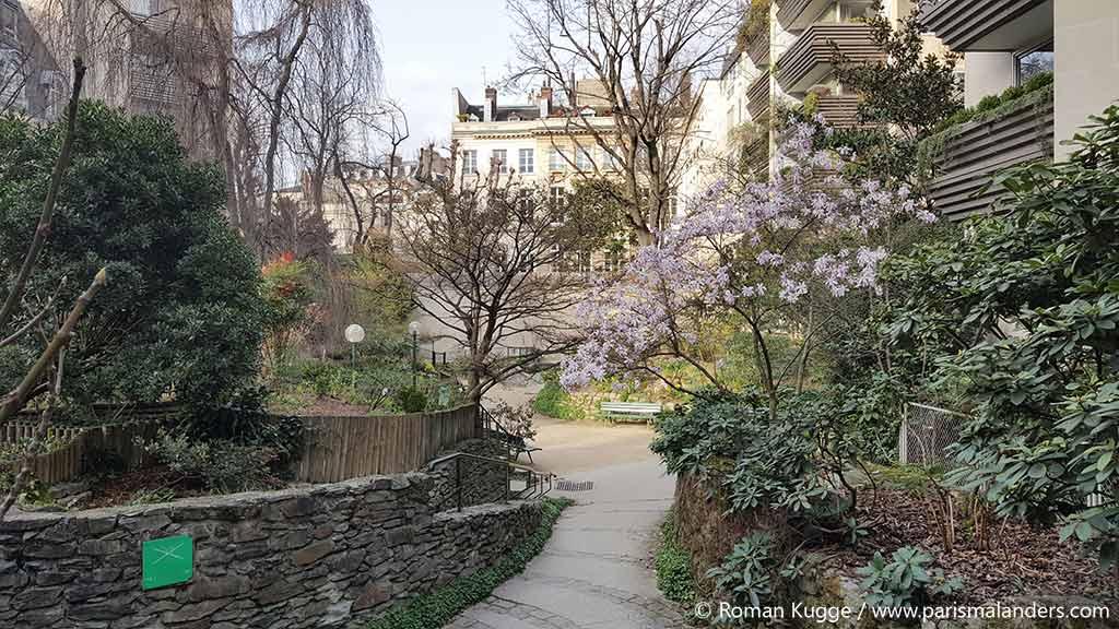 Geheimer Park Paris