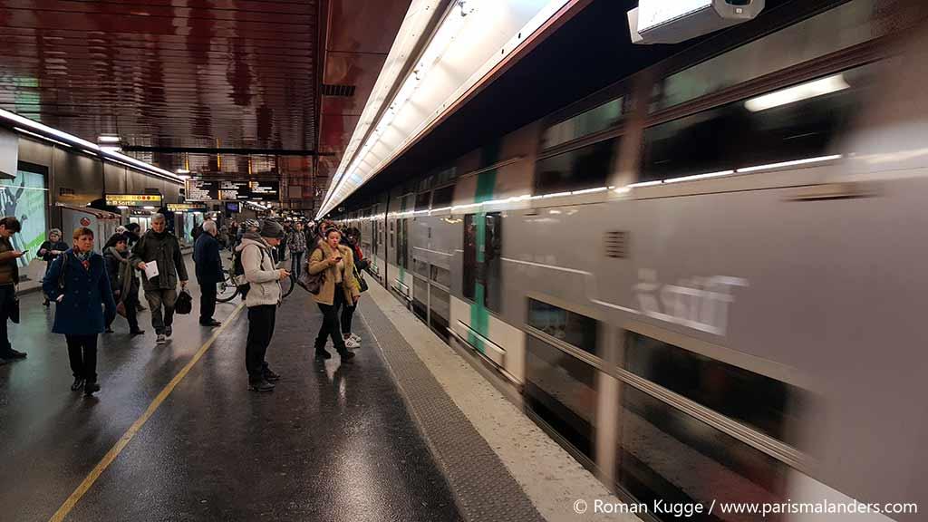 Metro RER Paris