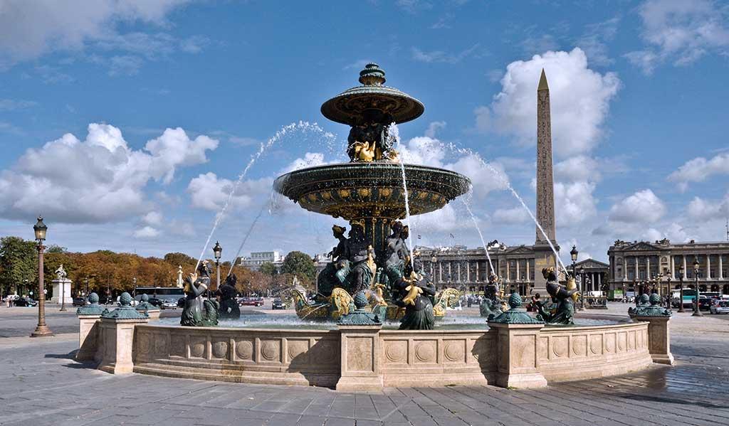 Place de la Concorde Drehort BrunnenDevil Wears Prada