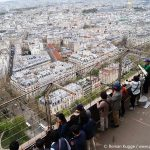 Ausblick Eiffelturm erste Etage Stockwerk