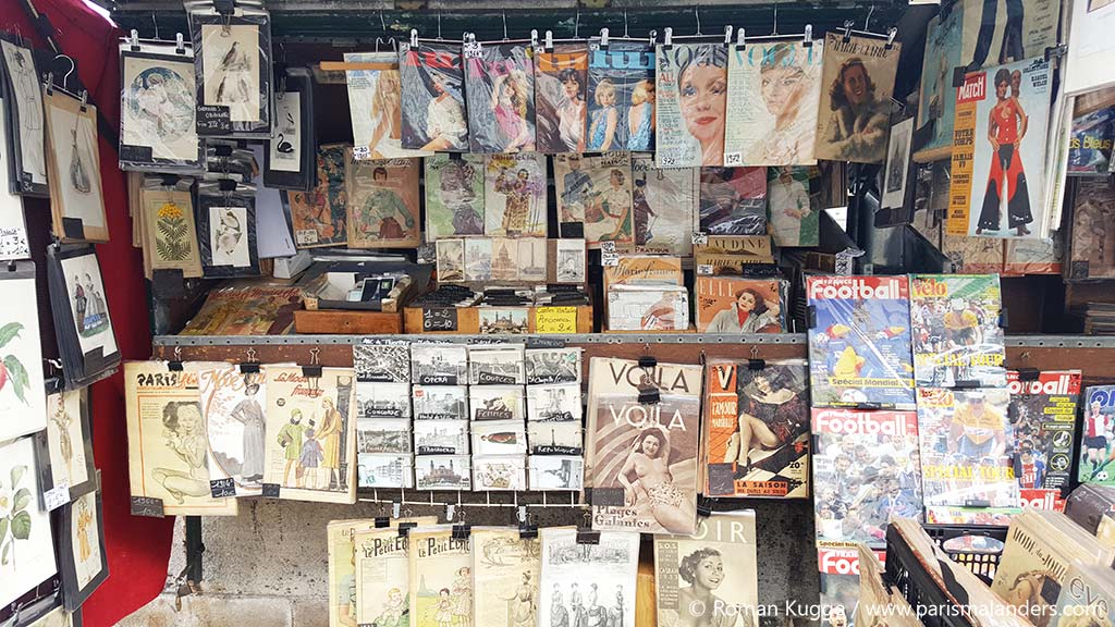 Bouquiniste Paris Buchhändler Seine (1)
