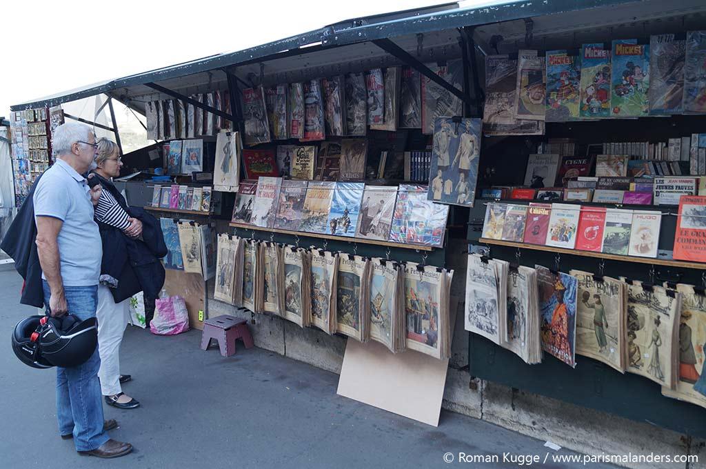 Bouquiniste Paris Buchhändler Seine (4)