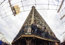 Eiffelturm 2 Stockwerk Aussichtsplattform