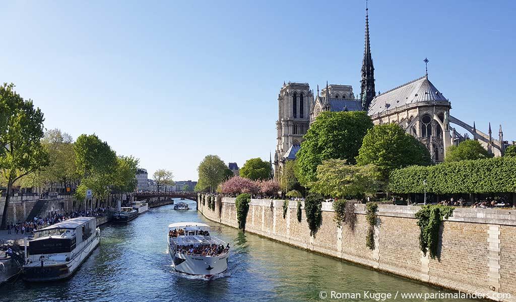 Notre Dame Bootsfahrt Paris