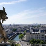 Ausblick Notre Dame Türme Figuren