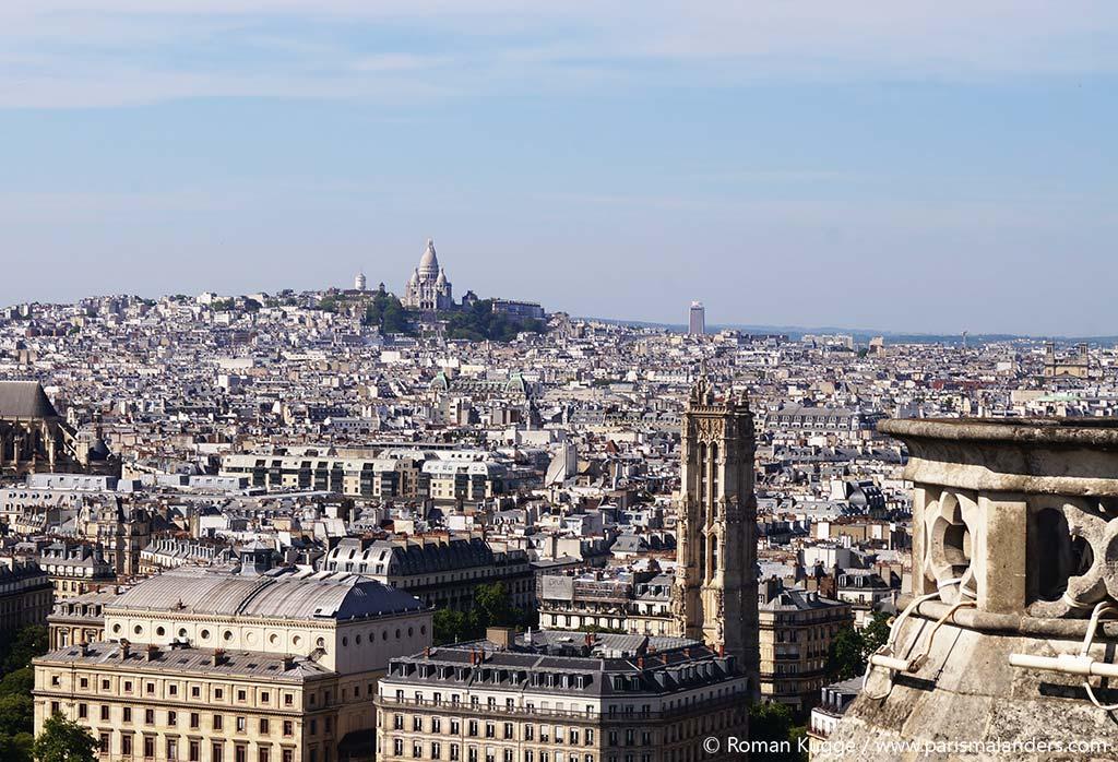 Aussicht Notre Dame Montmartre