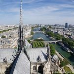 Dach Ausblick Notre Dame