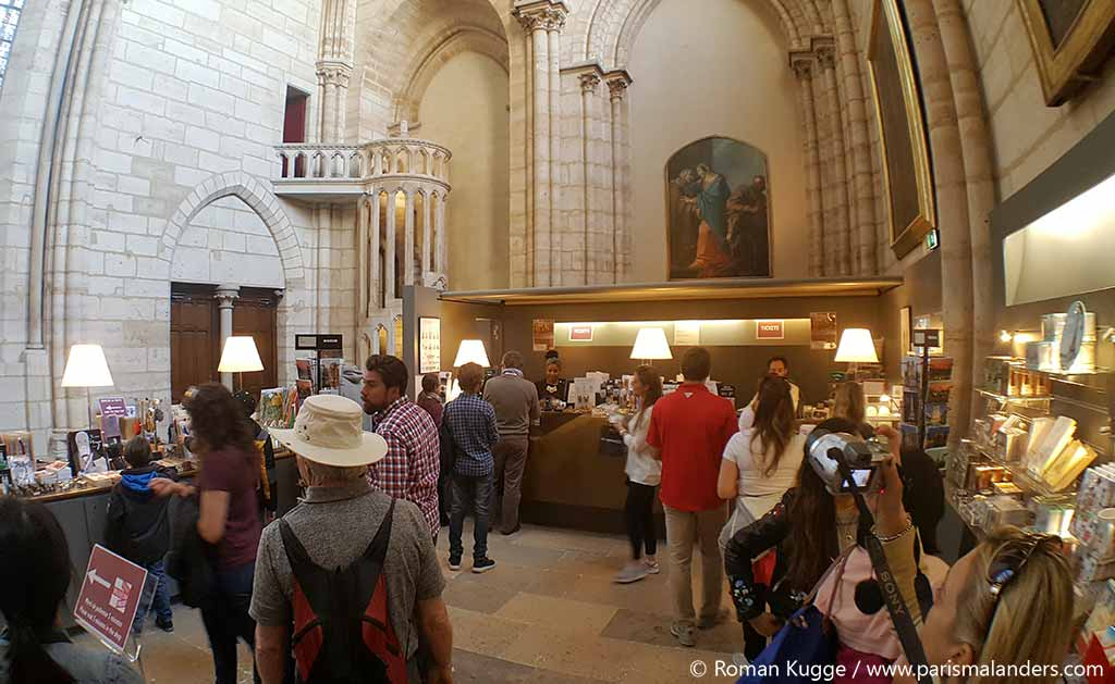 Eingang Kassen Türme Notre Dame