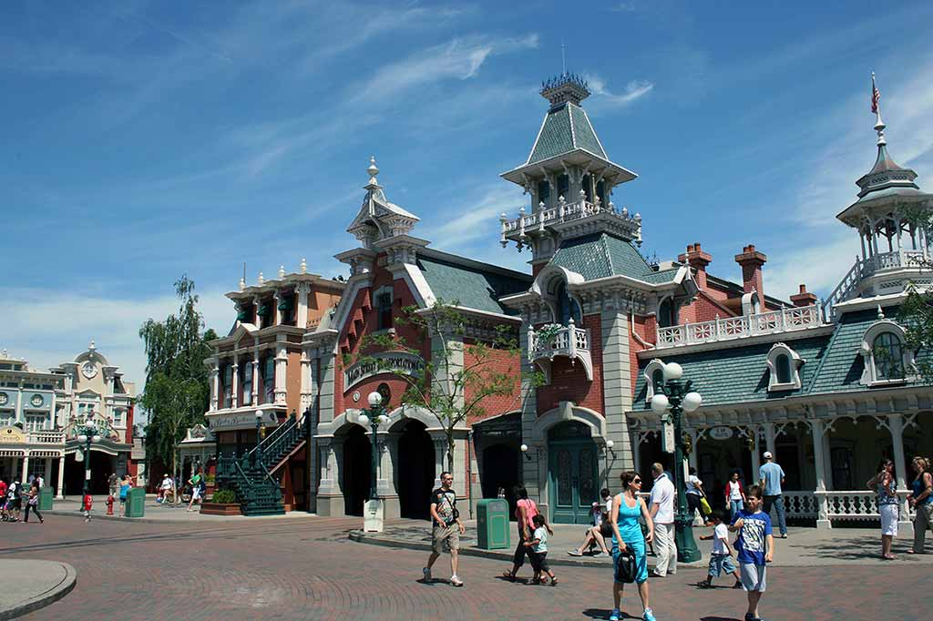 Freizeitpark Disneyland in Paris