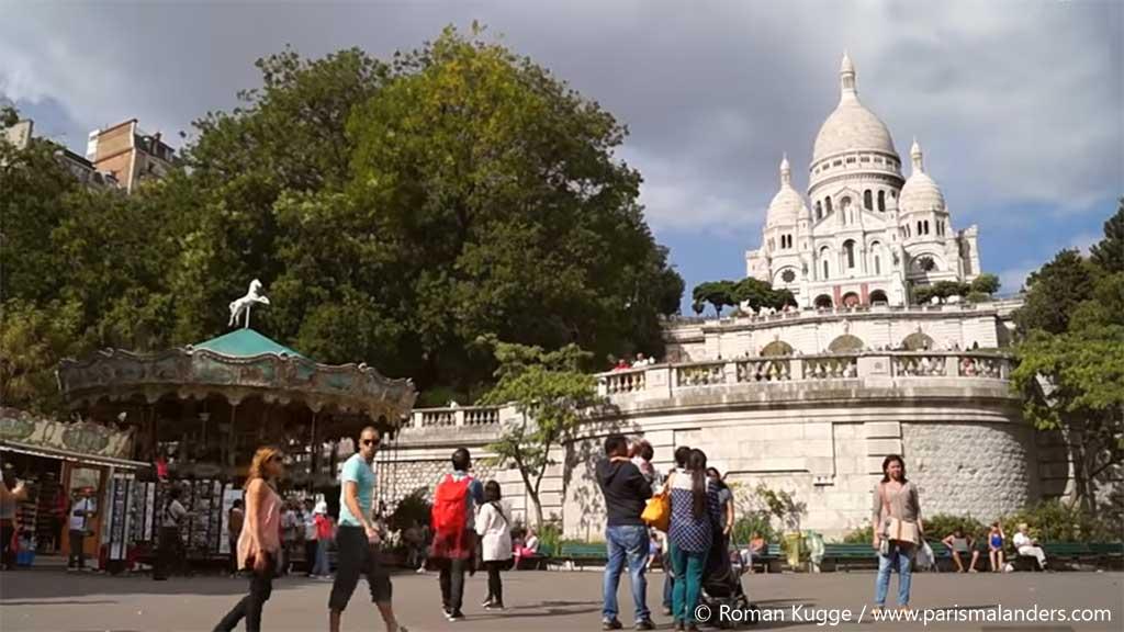 Karussell Montmartre Sacré-Coeur