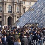 Louvre Wartezeiten Eingang Pyramide