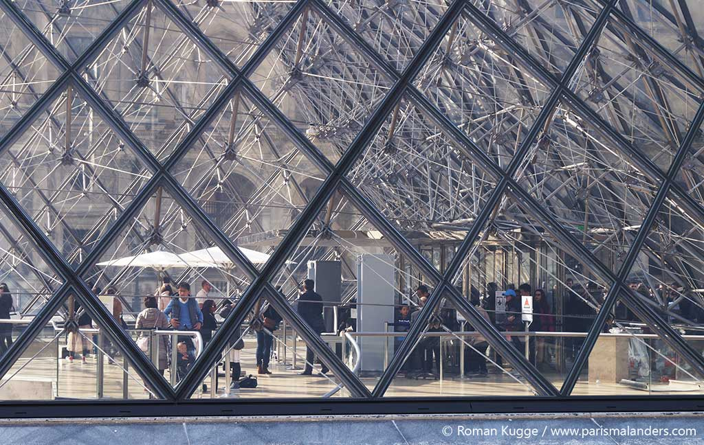 Fünf Pyramiden Louvre