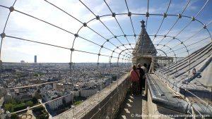 Türme Notre-Dame Rundgang