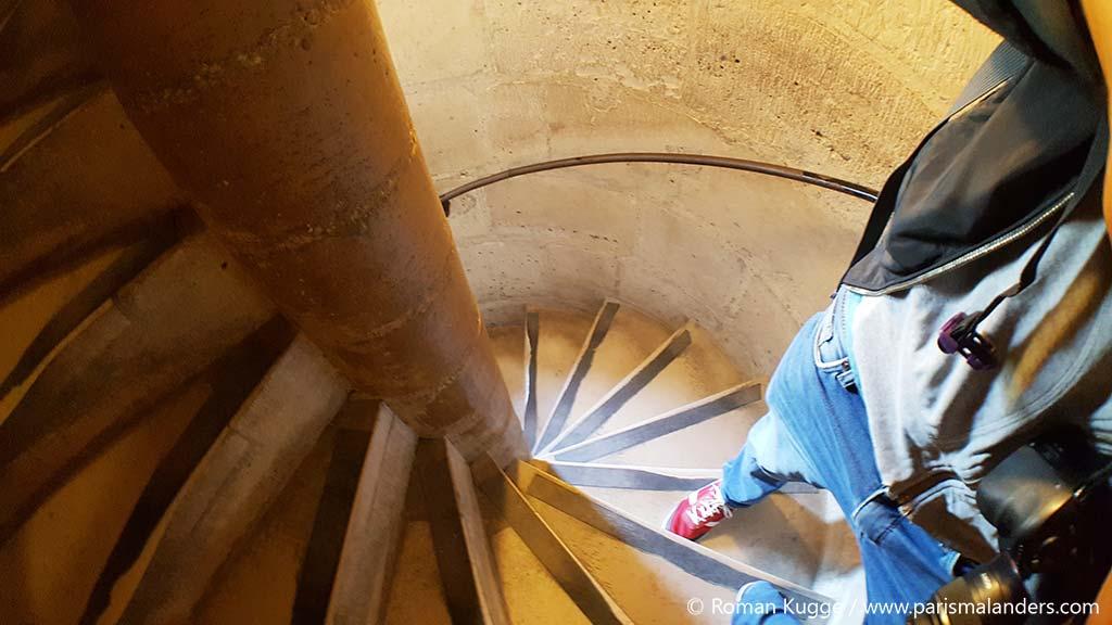 Treppen Stufen Türme Notre Dame