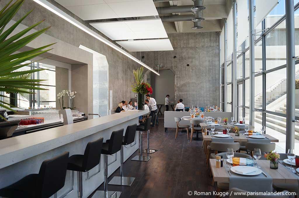 Grande Arche La Defense Dach Restaurant