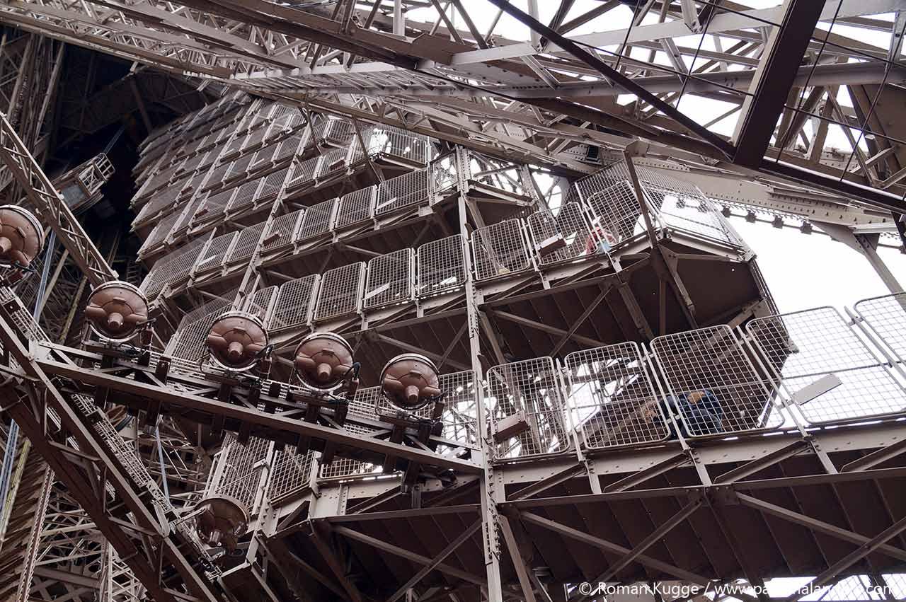 Eiffelturm Stufen