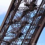 Eiffelturm Treppen zu Fuß