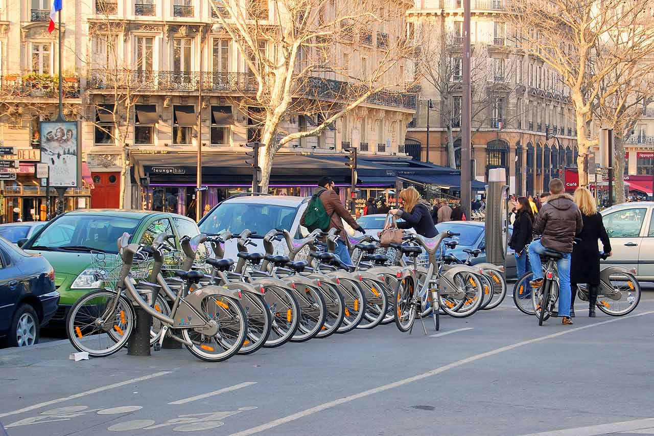 Velib Radstation Paris