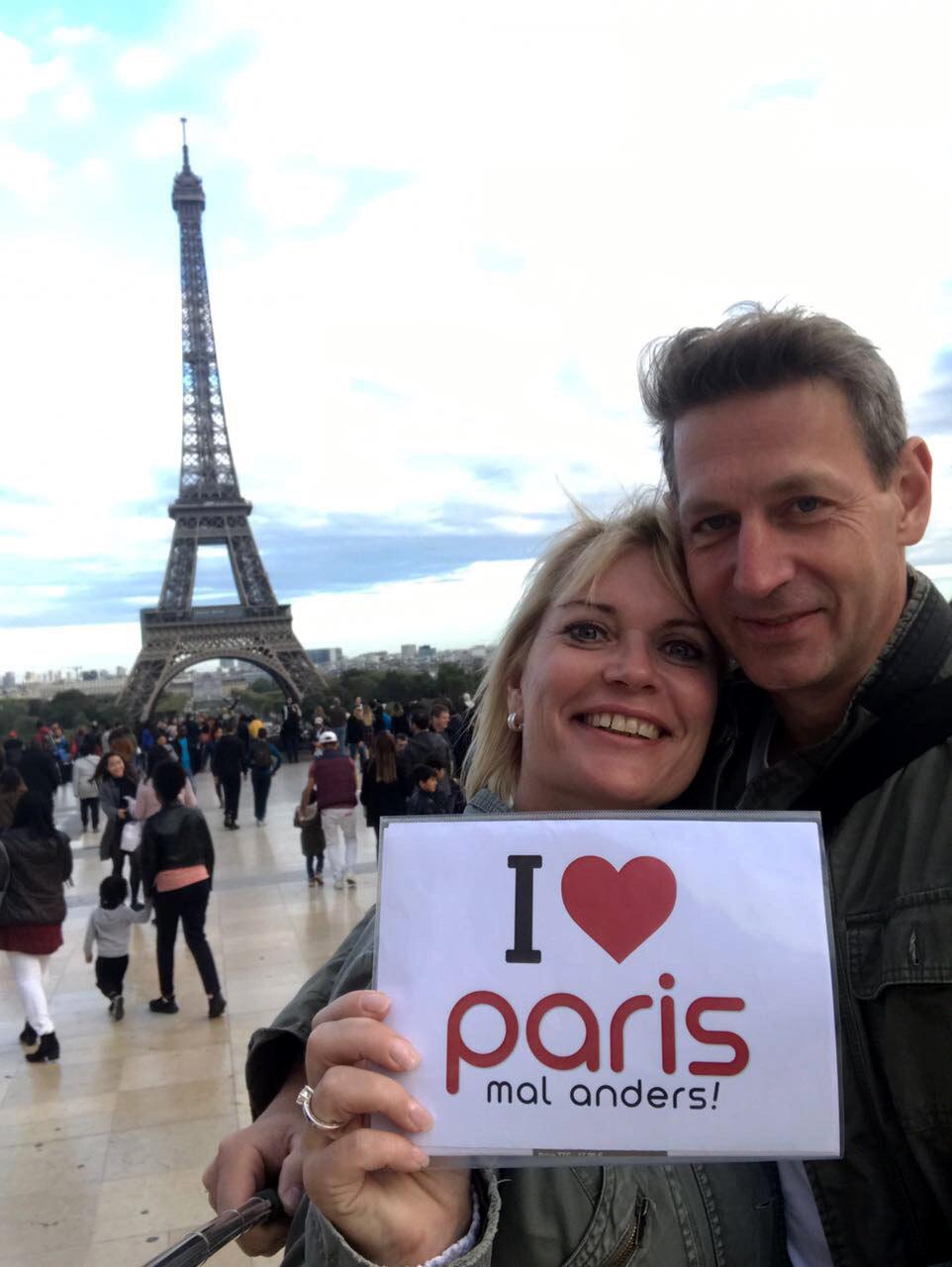 Erinnerungsfoto aus Paris 3