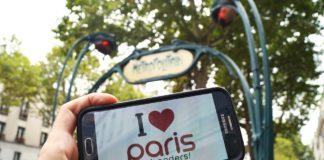 I love Paris mal anders Erinnerungsfoto