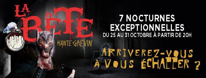 Halloween Gruselkabinett Le Manoir in Paris