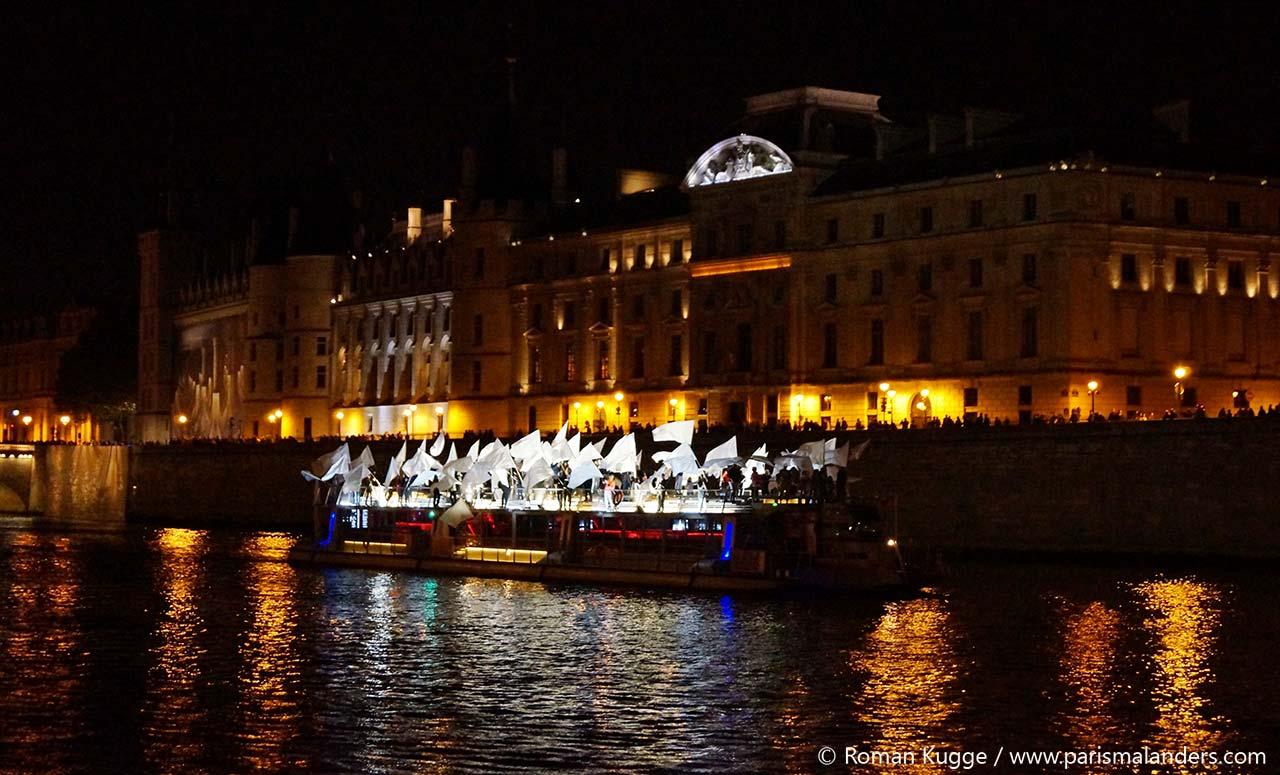 Nuit Blanche Paris Seine