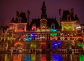 Nuit Blanche Rathaus Paris