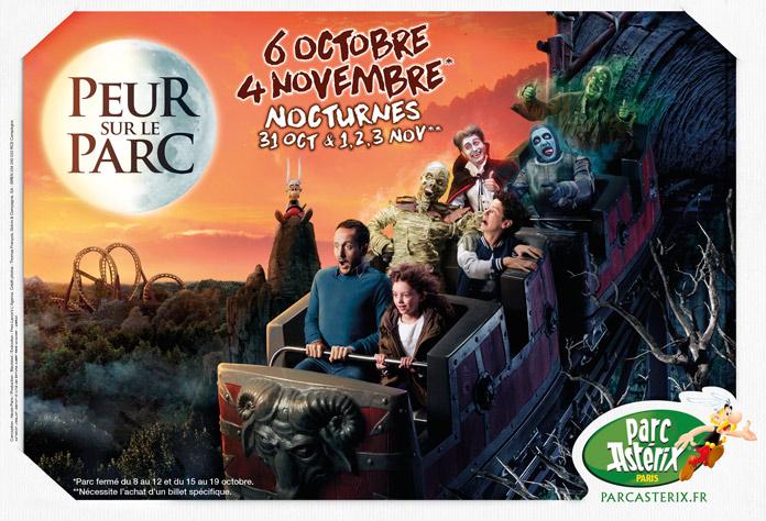 Parc Asterix Halloween Peur Sur le Parc