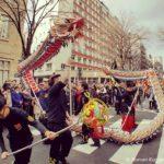 Chinesisches Neujahrsfest Paris Drachen