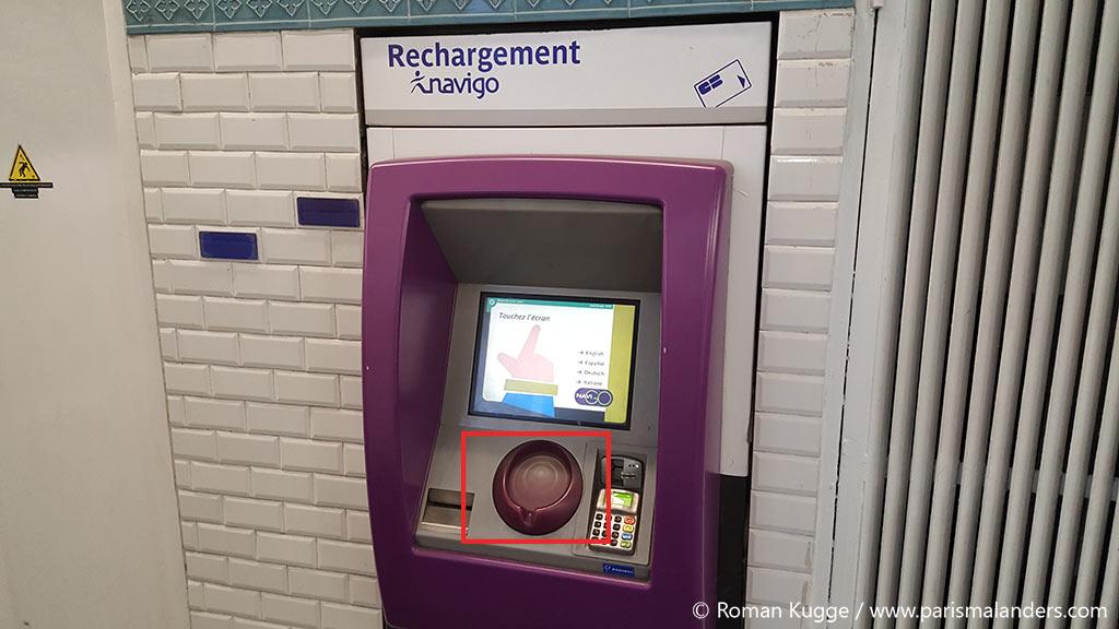 Wochenticket Metro Paris Pass Navigo Decouverte