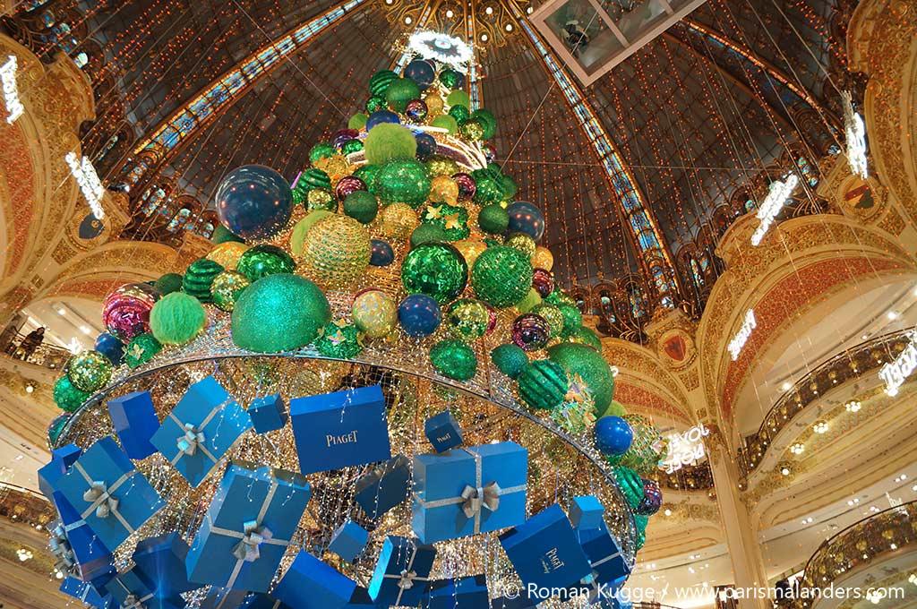 Weihnachtsbaum Galerie Lafayette Paris