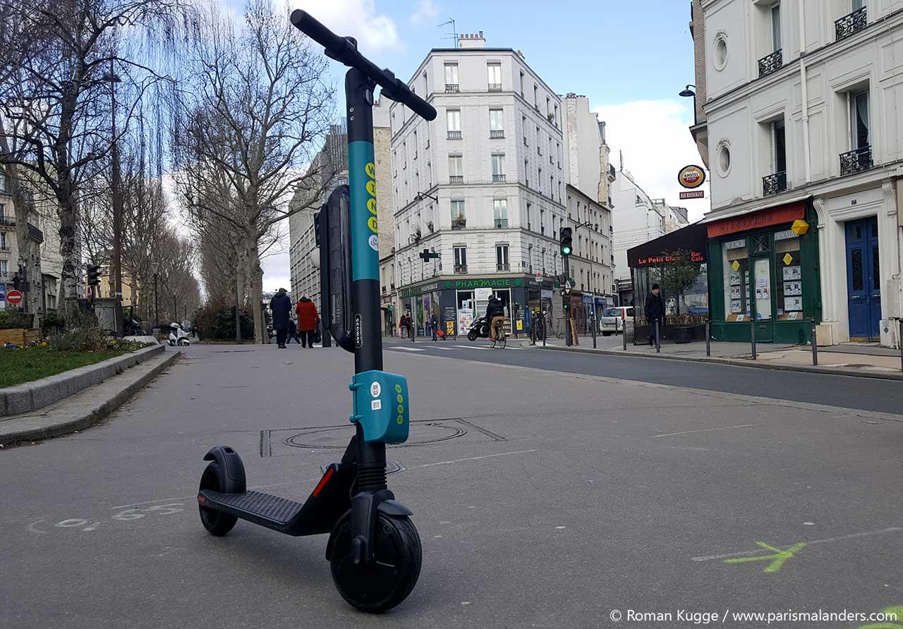 Elektroroller Paris