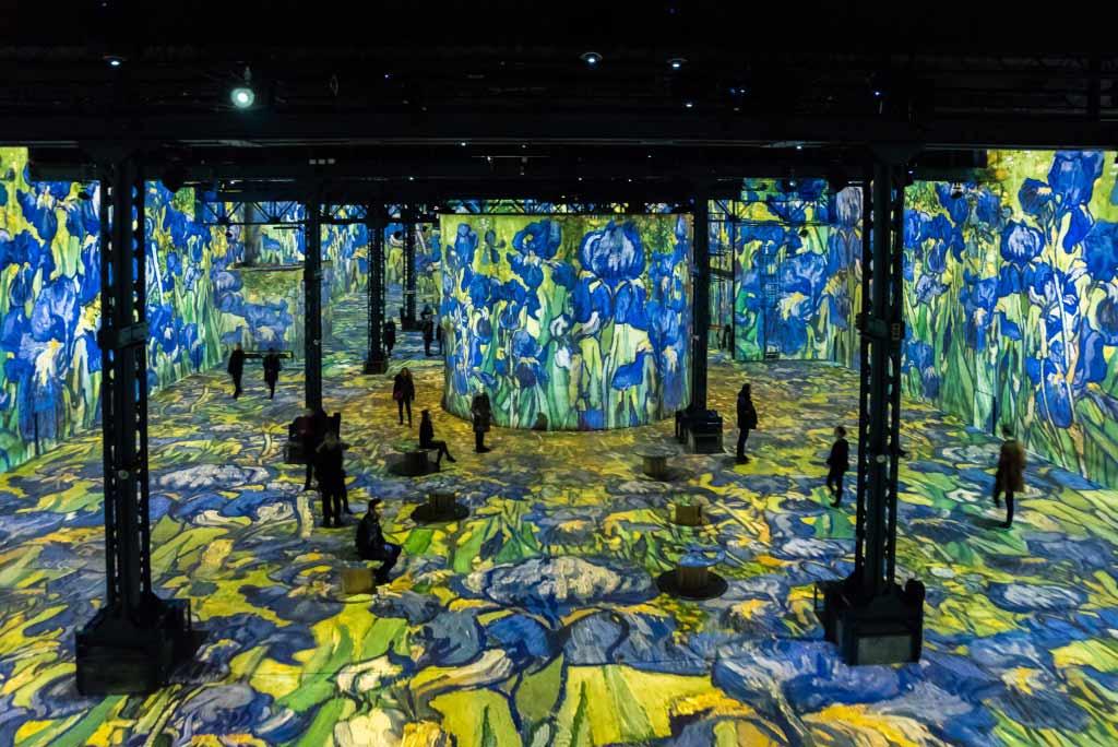 Van Gogh Ausstellung Paris Atelier des Lumières
